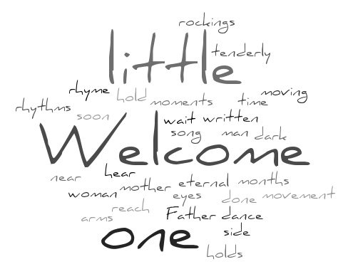Welcome Little One - Tim Durham - Family Life Services